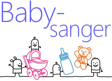 Babysanger - sanger for baby