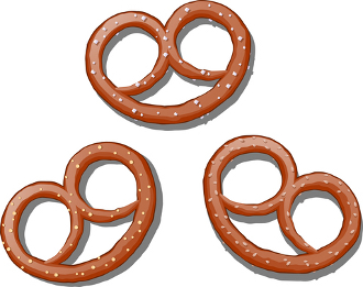barnesanger no bake  bake kake  bordvers pretzel clip art free images pretzel clip art black and white