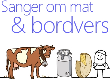 Bordvers Og Barnesanger Om Mat
